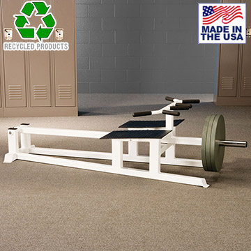 Bomb Proof BP-28 Plate Loaded T-Bar Row for Back Training