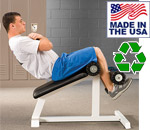 USA Made Bomb Proof BP-12 Commercial Sit-Up Bench