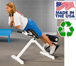 Bomb Proof American Made 45 Degree Hyperextension Bench