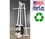 Bomb Proof BP-106 Selectorized Seated Lat Pulldown Machine