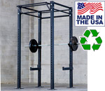 Bomb Proof BP-HDMDHR1 Heavy Duty Commercial Dual Sided Half Rack