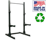 Bomb Proof HD Series Floor Mounted Squat Stand For Weight Lifting