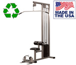 Bomb Proof BP-100-26 Lat Pulldown Selectorized Machine with Low Pulley