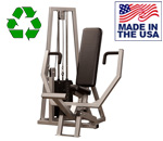 Bomb Proof BP-101 Selectorized Seated Chest Press Machine for Commercial Gyms and Government Purchase