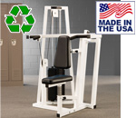Bomb Proof BP-104 Selectorized Shoulder Press Machine for Commercial Gyms