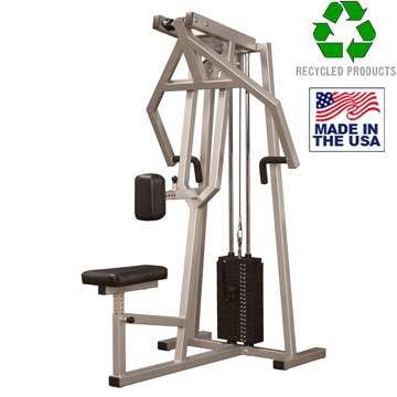 Bomb Proof BP-107 Selectorized Vertical Row Machine for Back Training