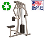 Bomb Proof BP-107 Selectorized Multi-Grip Lat Row Machine for Back Training