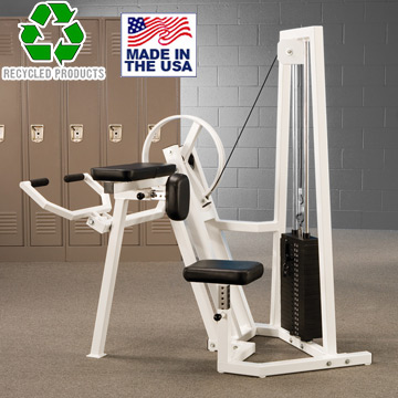 Bomb Proof BP-108 Selectorized Bicep Curl Machine with 200 lb. Weight Stack
