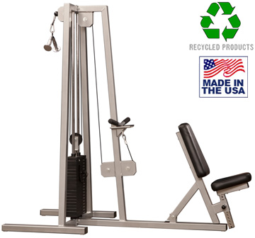 Bomb Proof BP-109 Selectorized Double Tricep Extension Machine