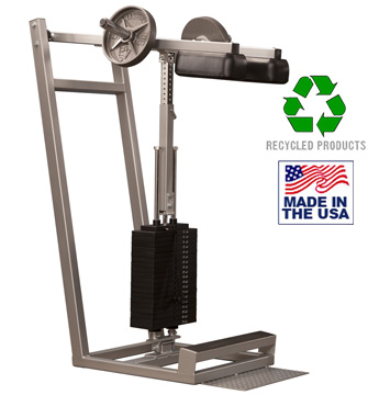 Bomb Proof BP-115 Selectorized Standing Calf Raise Machine