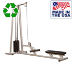 Bomb Proof BP-116 Selectorized Seated Row Machine for Back Training