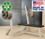 Bomb Proof BP-1A Heavy-Duty Flat Olympic Weight Bench for Commercial Gyms