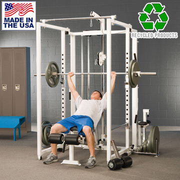 Bomb Proof BP-39 Garage Gym Strength Training System