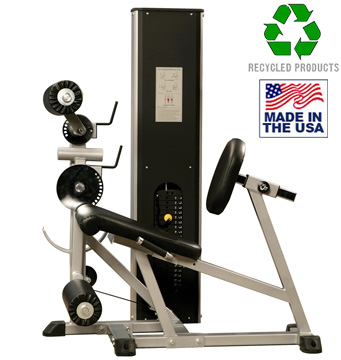 Bomb Proof BP-502 Combo Leg Extension / Seated Leg Curl Selectorized Machine