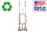 BOMB PROOF BP-51 5-Olympic Bar Vertical Rack