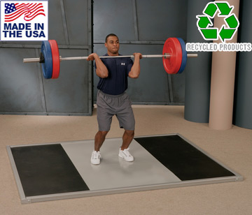 USA Made Bomb Proof BP-54A Premium Series Olympic Weightlifting Platform