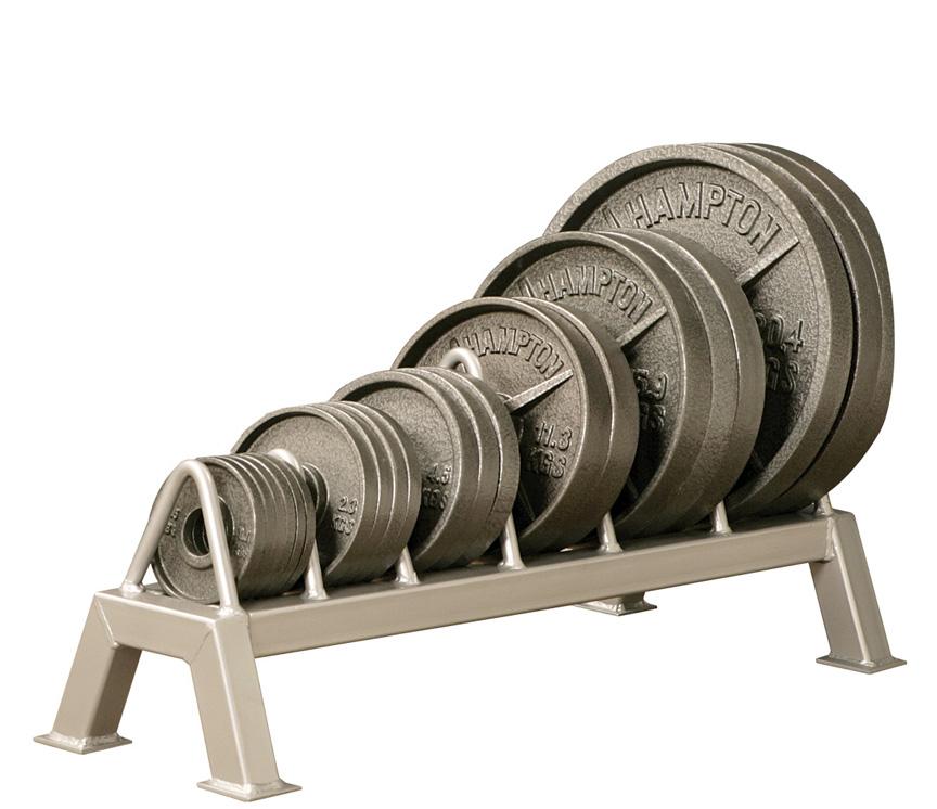 Horizontal Olympic Plate Storage Rack -- Bomb Proof (BP-60)