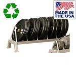 USA Made Bomb Proof BP-61 Horizontal Bumper Plate Rack