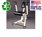 USA Made Bomb Proof BP-901 Hydraulic Resistance Chest Press and Back Row Machine
