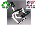 USA Made Bomb Proof BP-906 Hydraulic Resistance Leg Extension and Leg Curl Machine