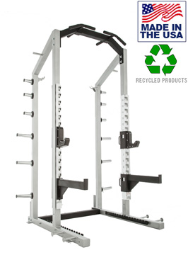 Bomb Proof BP-HD97A Commercial Duty Half Rack for Weight Rooms