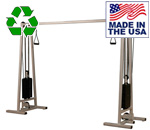 USA Made Bomb Proof BP-102 Dual Stack Cable Crossover Machine
