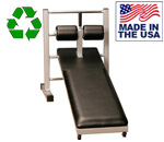 USA Made Bomb Proof BP-34-36 Single Ladder Station and Flat Sit-up Bench