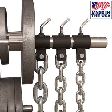 American Made Weight Lifting Chain Collars for Olympic Bars