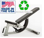 HD Series Flat Bench with Incline