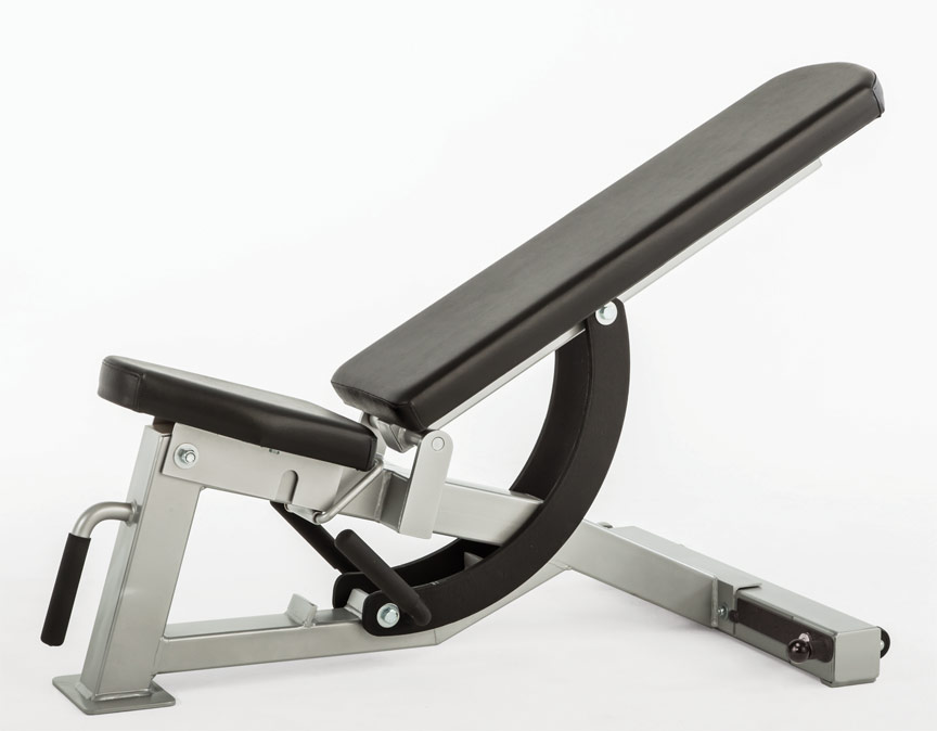 Elegant USA Made Bomb Proof BP HD07 Commercial HD Series Adjustable Weight Bench