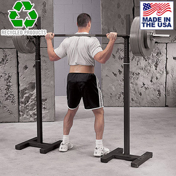 Bomb Proof BP-58 Commercial Adjustable Portable Squat Stands