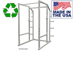 Bomb Proof BP-40A Squat Rack with Weight Plate Holders and Chin-Up Bar