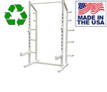USA Made Bomb Proof BP-98 Basic Half Rack w/ Optional Olympic Platform