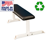 Bomb Proof BP-6 USA Made Flat Weight Bench For Military and Commercial Gyms