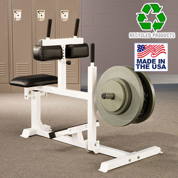 USA Made Bomb Proof BP-22 Commercial Plate Loaded Seated Calf Machine