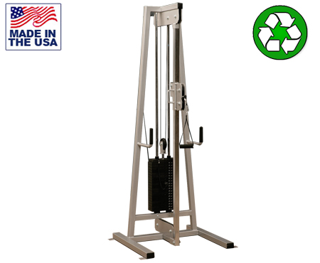 Bomb Proof BP-102B Selectorized Adjustable Single Column Functional Trainer