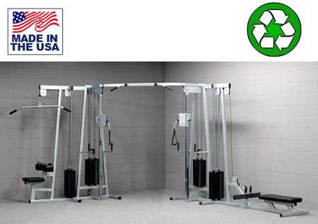 4 Stack Functional Trainer