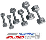Residential Iron Hex Dumbbell Sets