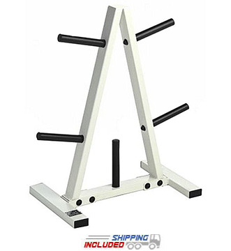 CAP Barbell RK-1B Regular A-Frame Weight Plate Tree for Home Use