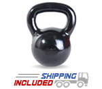 CAP Black Polished Kettlebell Sets
