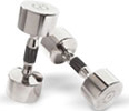 Chrome Dumbbells at Ironcompany.com