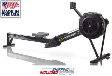 Concept2 Black Model D Rower w/ PM5 Console