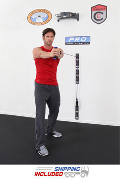 Suspension Strap and Resistance Band Station