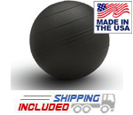 Black 12 inch Slam Ball