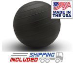 Black 15 inch Slam Ball