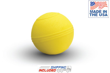Yellow D-Ball 5 inch USA Made Slam Ball
