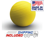 Yellow 8 inch USA-Made Slammer Balls