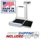 Detecto 4951 Economical Mechanical Beam Wheelchair Scale for Medical Offices