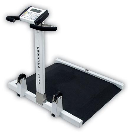 Wheel Chair Scale portable wheelchair scale -- detecto (6550)