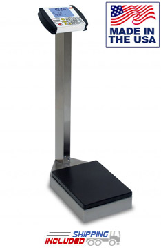 Stainless Steel Digital Waist-High Physician Scale